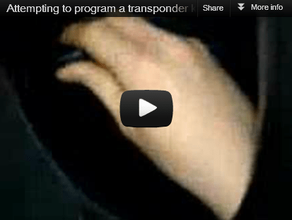 Remote Key Programming | Reprogram Your Own Transponder Key FAIL