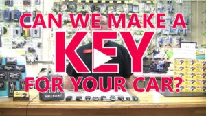 Can We Make A Key For Your Car? | Stu's EZ Auto Remotes
