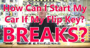 How Can I Start My Car When My Flip Key Breaks? | Stu's EZ Auto Remotes