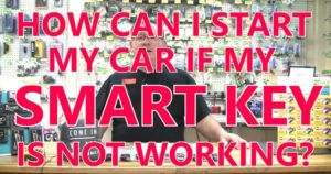 How Can I Start My Car if My Smart Key Breaks? | Stu's EZ Auto Remotes